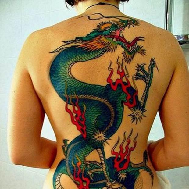 Dragon tattoos (49)