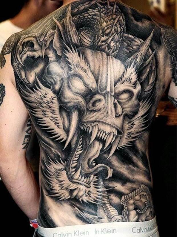 Dragon tattoos (35)