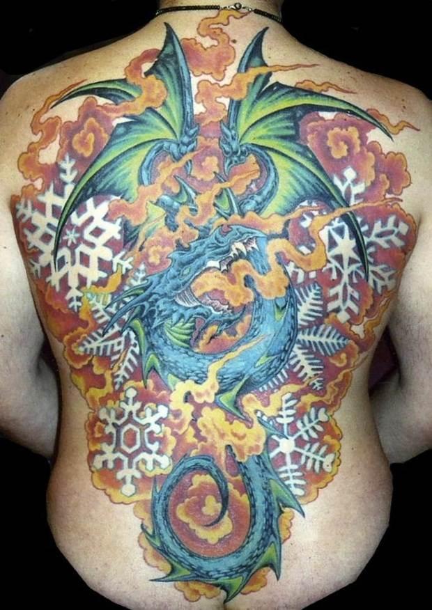 Dragon tattoos (33)
