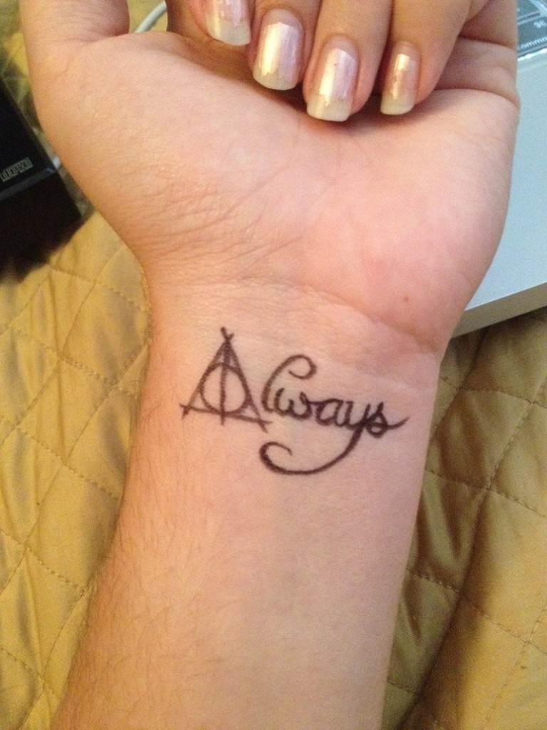 Harry Potter Tattoos.5