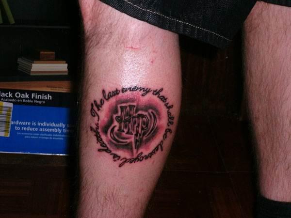 Harry Potter Tattoos.26