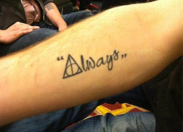 Harry Potter Tattoos.9