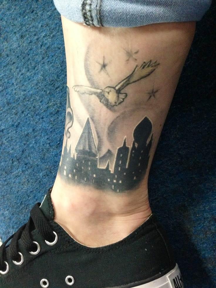 Harry Potter Tattoos.36
