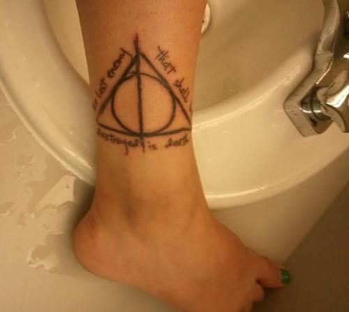 Harry Potter Tattoos.40