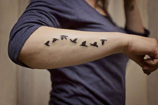 Small Tattoo Designs and Ideas.58