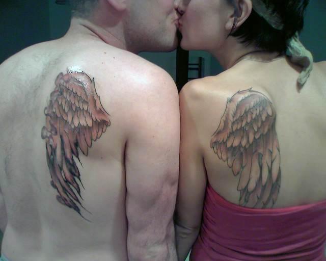 Matching body Tattoos
