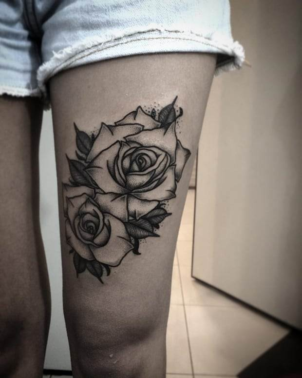 Black-Rose-Tattoo