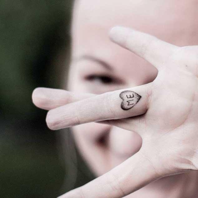 loveheart tattoo