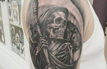 Amazing Grim Reaper Tattoos