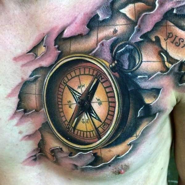 compass-tattoos