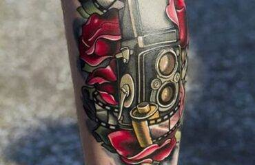 Camera Tattoo To Show Your Love
