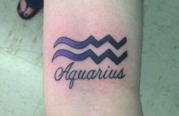 Unique Aquarius Tattoo Ideas