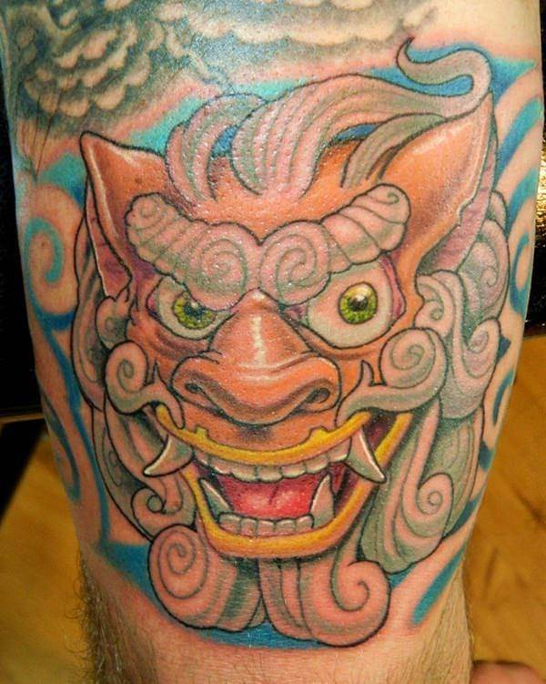 foo dog tattoos 19