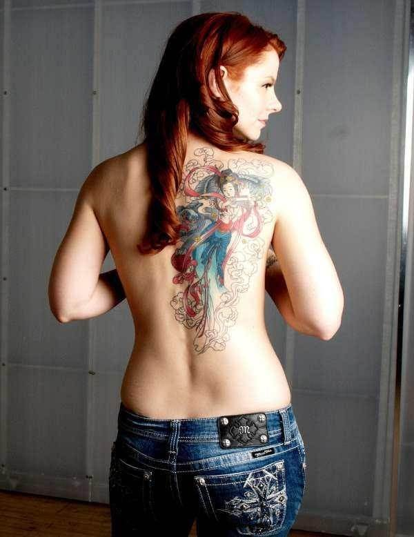 foo dog tattoos 26
