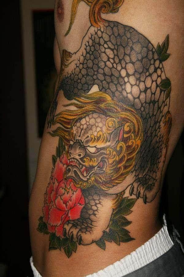 foo dog tattoos 34