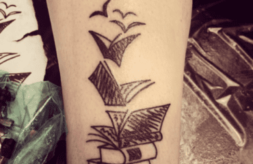 Cool Book Tattoos That Are Pretty