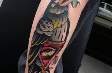 Amazing Raven Tattoos