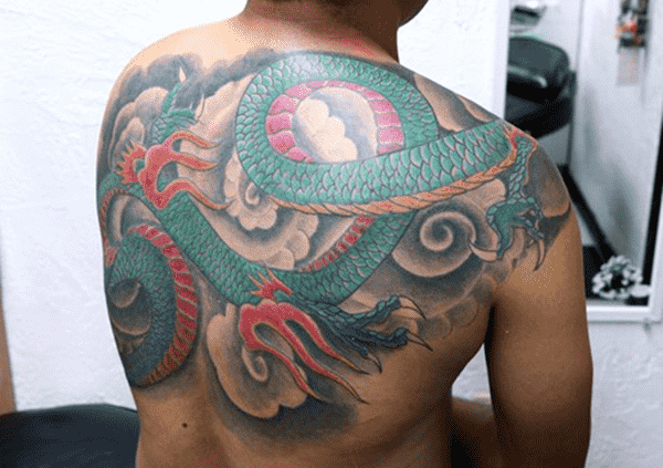 Dragon tattoo designs for women and men9