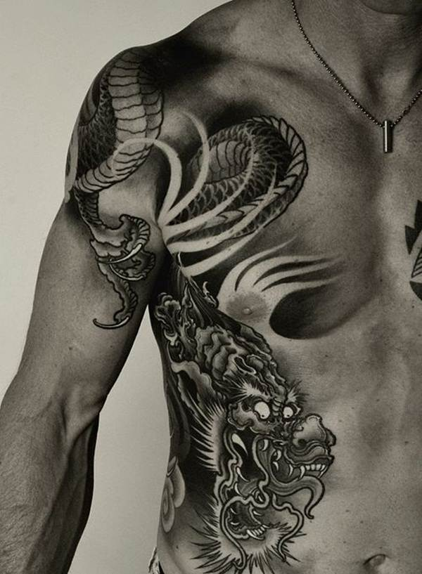 Dragon tattoo designs for women and men25
