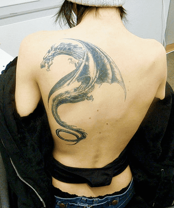Dragon tattoo designs for women and men40