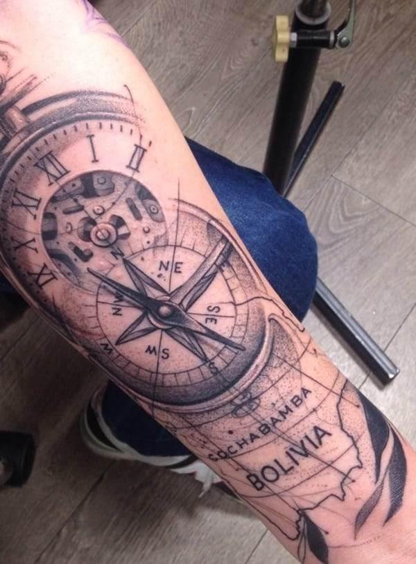 pocket-watch-tattoos-23