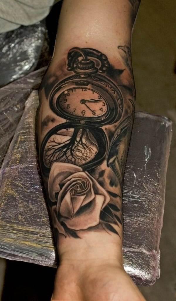 pocket-watch-tattoos-6