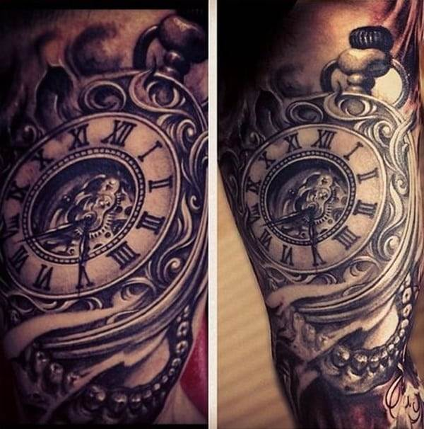 pocket-watch-tattoos-9