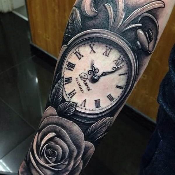 pocket-watch-tattoos-35