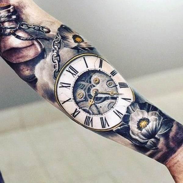pocket-watch-tattoos-33