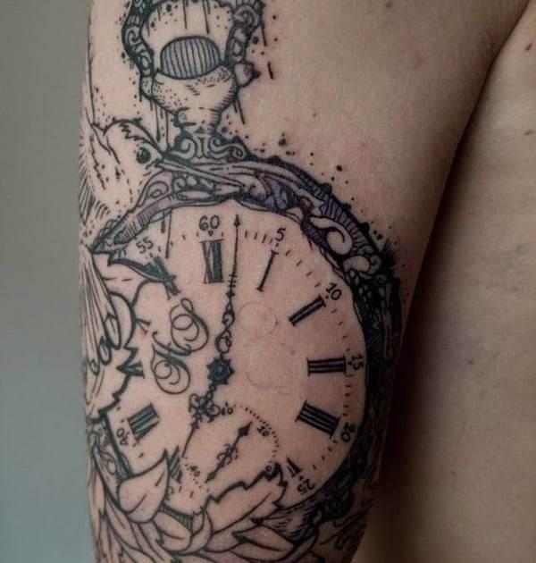pocket-watch-tattoos-38