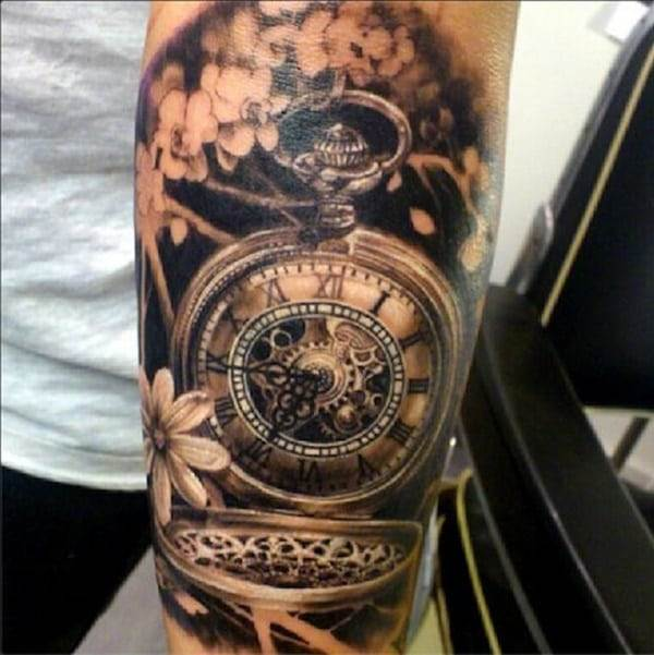 pocket-watch-tattoos-37