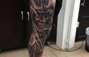 Unique Samurai Tattoos