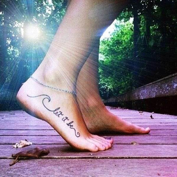 Ankle tattoo designs 4