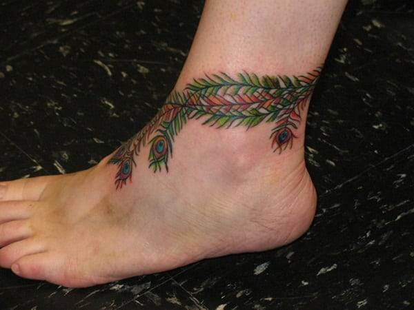 Ankle tattoo designs 32