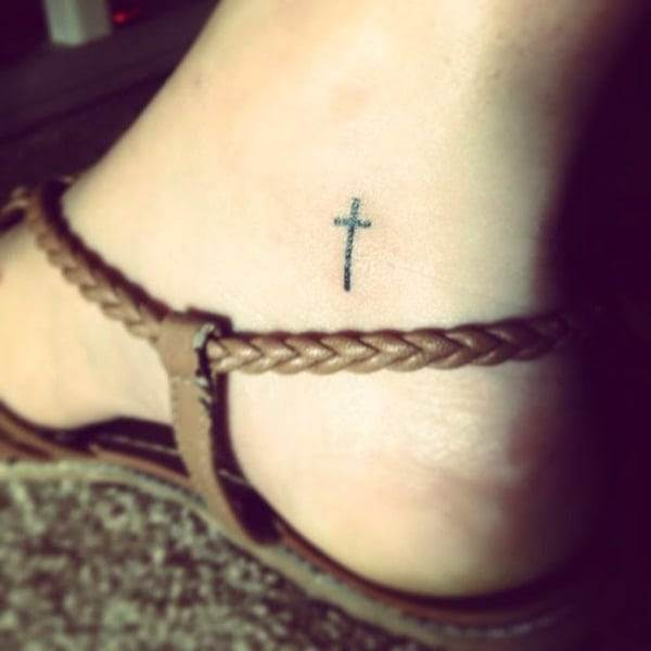 Ankle tattoo designs 41