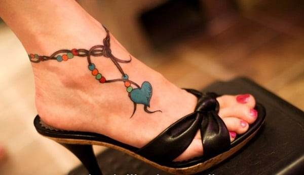 Ankle tattoo designs 45