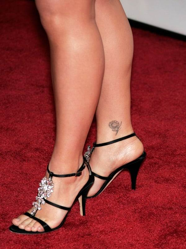 Ankle tattoo designs 12
