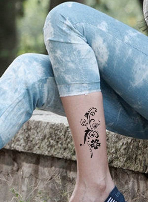 Ankle tattoo designs 61