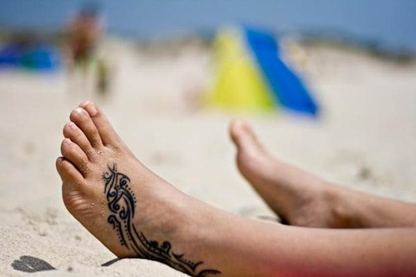 Ankle tattoo designs 64