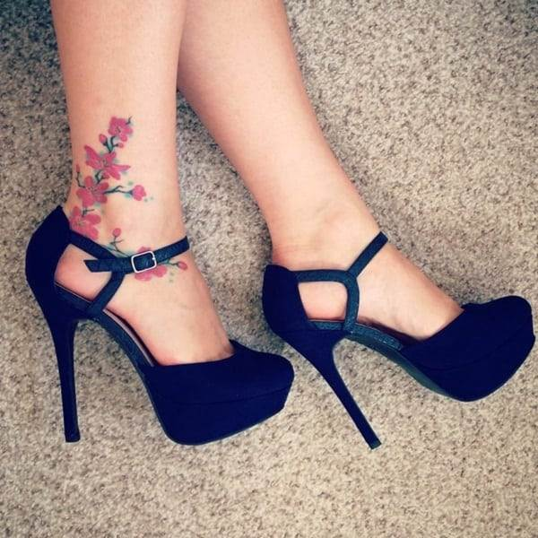 Ankle tattoo designs 68