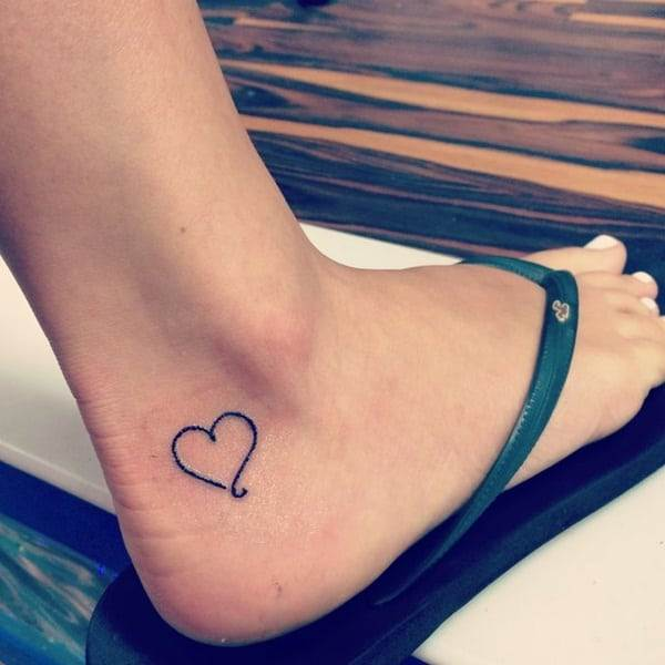Ankle tattoo designs 14