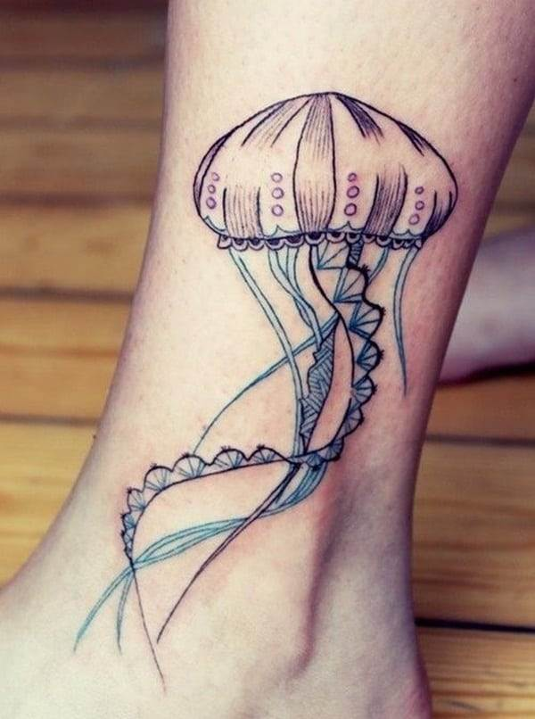 Ankle tattoo designs 9