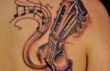 Rockin' Music Tattoos