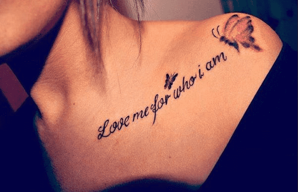 Quote tattoo designs for boys and girls2