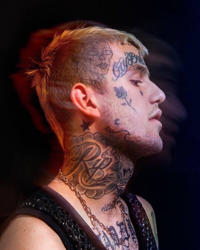 lil peep rip tattoo