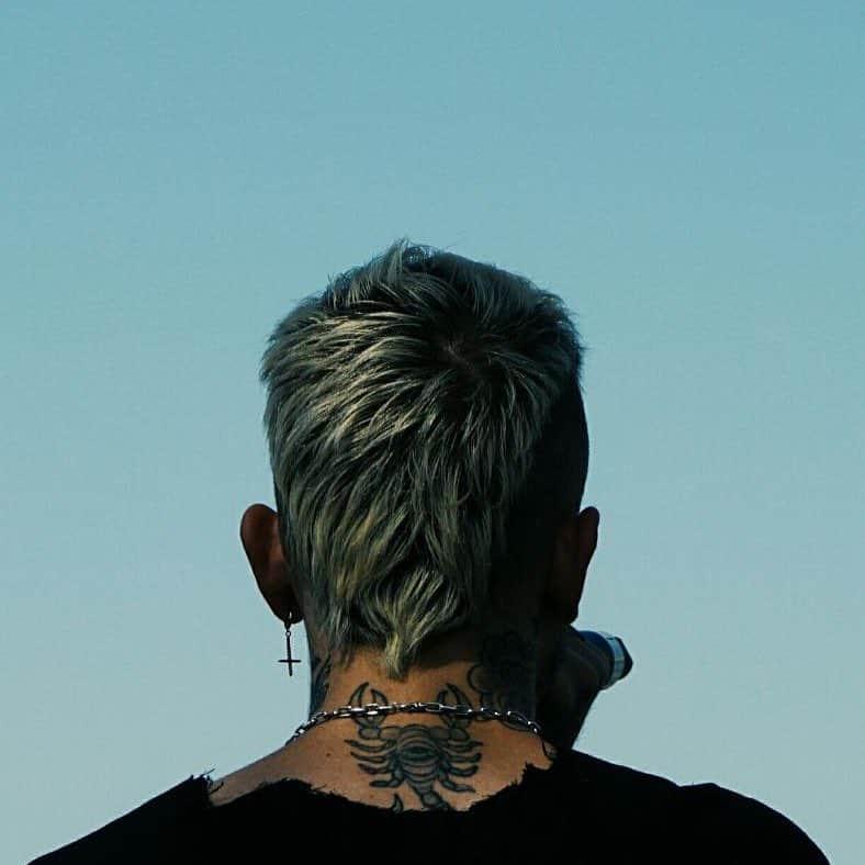 lil peep scorpion tattoo