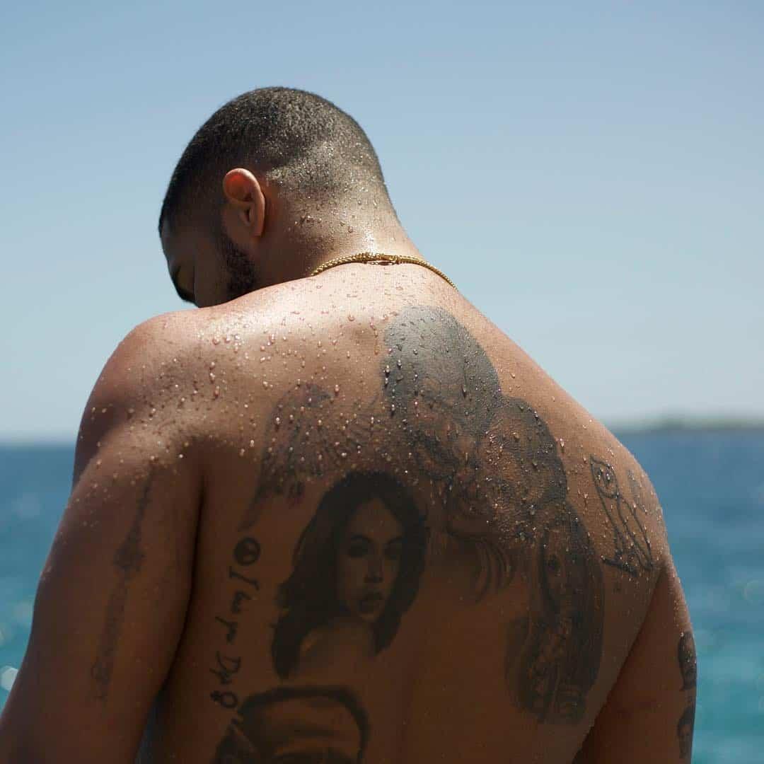 drake aaliyah tattoo