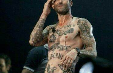 All Adam Levine Tattoos