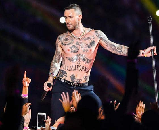 adam levine female centaur tattoo