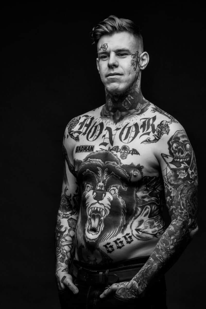 shayne smith skull ace of spades tattoo